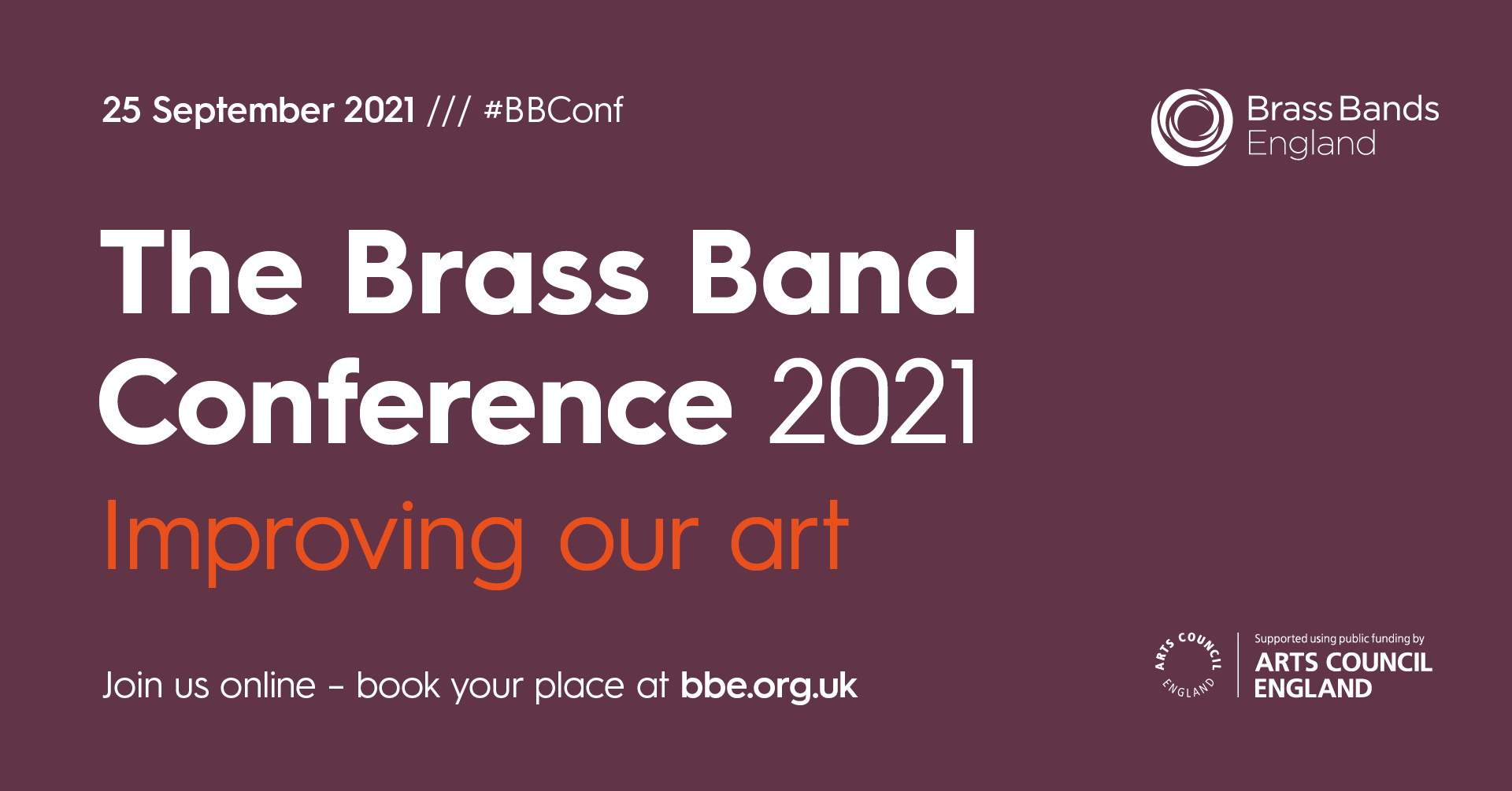 """The Brass Band Conference """"improving our art"""" 25 September 2021 #BBConf"""