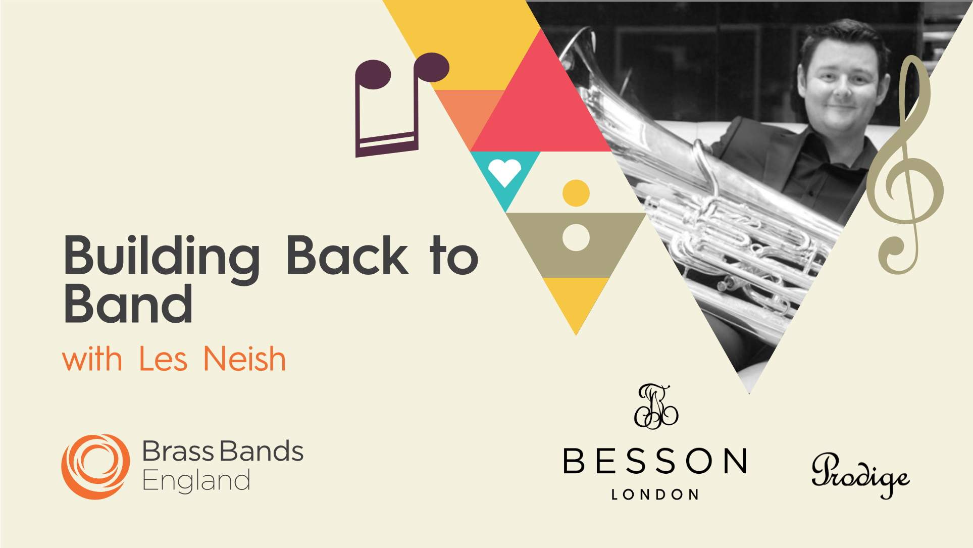 Building Back to Band with Les Neish supported by Besson
