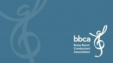 BBCA logo is a treble clef with two arms lifted in a conducting movement