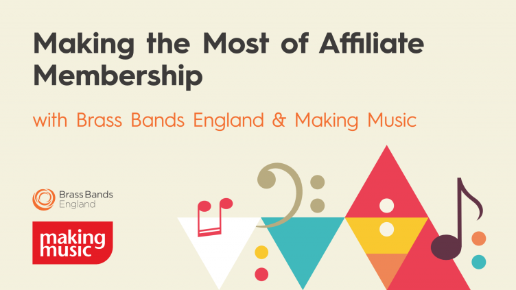 Making music - making the most of your affiliate membership